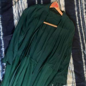 Zara Emerald Green Long Duster